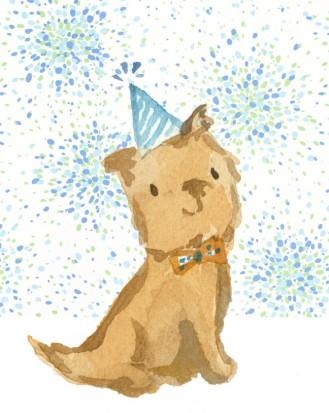 Darwin in Birthday Blue