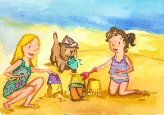 Summer Beach (c) 2016